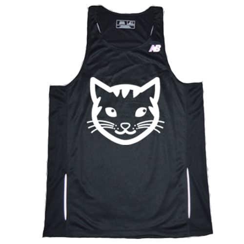 Cat running Singlet