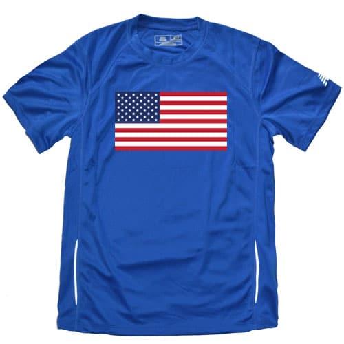 20c267ada4d8 American Flag Running Shirt • Redshirt Running
